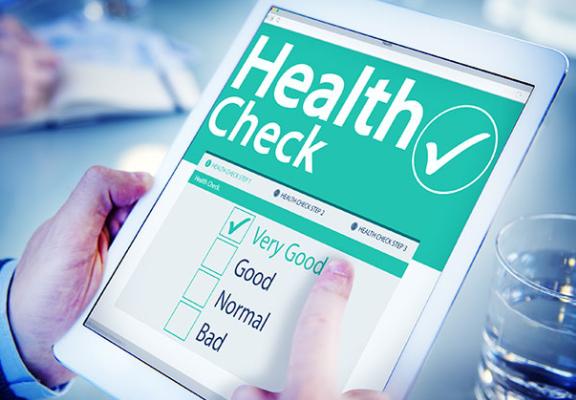 Check 6 health before illness, balance work