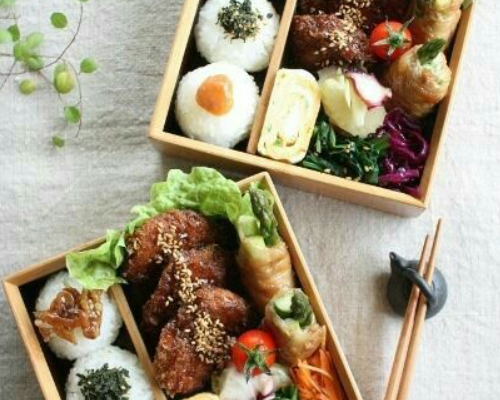 5 types of Japanese lunch boxes, cute food
