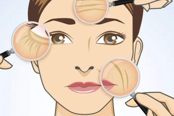 5 ways to reduce the 5 signs of aging on the face