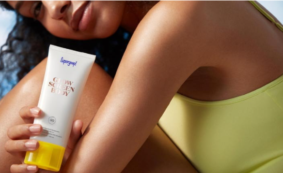 Sunscreen lotion from Supergoop